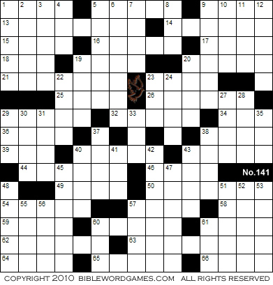 Magic image regarding printable bible crossword puzzles