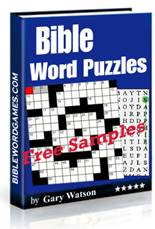 FREE Bible word puzzles Ebok