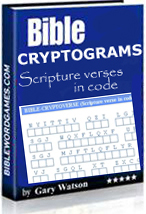 Bible cryptograms E-book