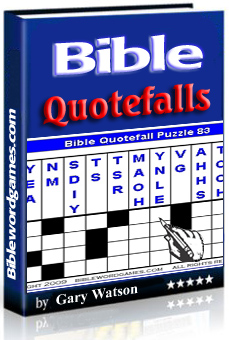 Christian Family Bible Quotefall puzzle E-book