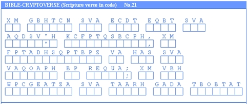 cryptogram sample