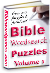 Christian Family Bible Wordsearch Puzzle E-book