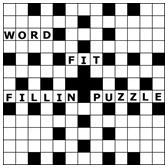 Fill-in style crosswords
