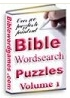 Family Christian Bible word puzzle E-book