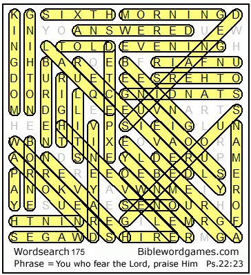 Free Christian Bible word search, circle-a-word, wordfind puzzle ...