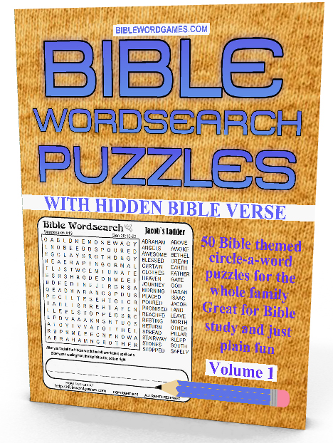 Christian Family Bible Word Search Puzzles